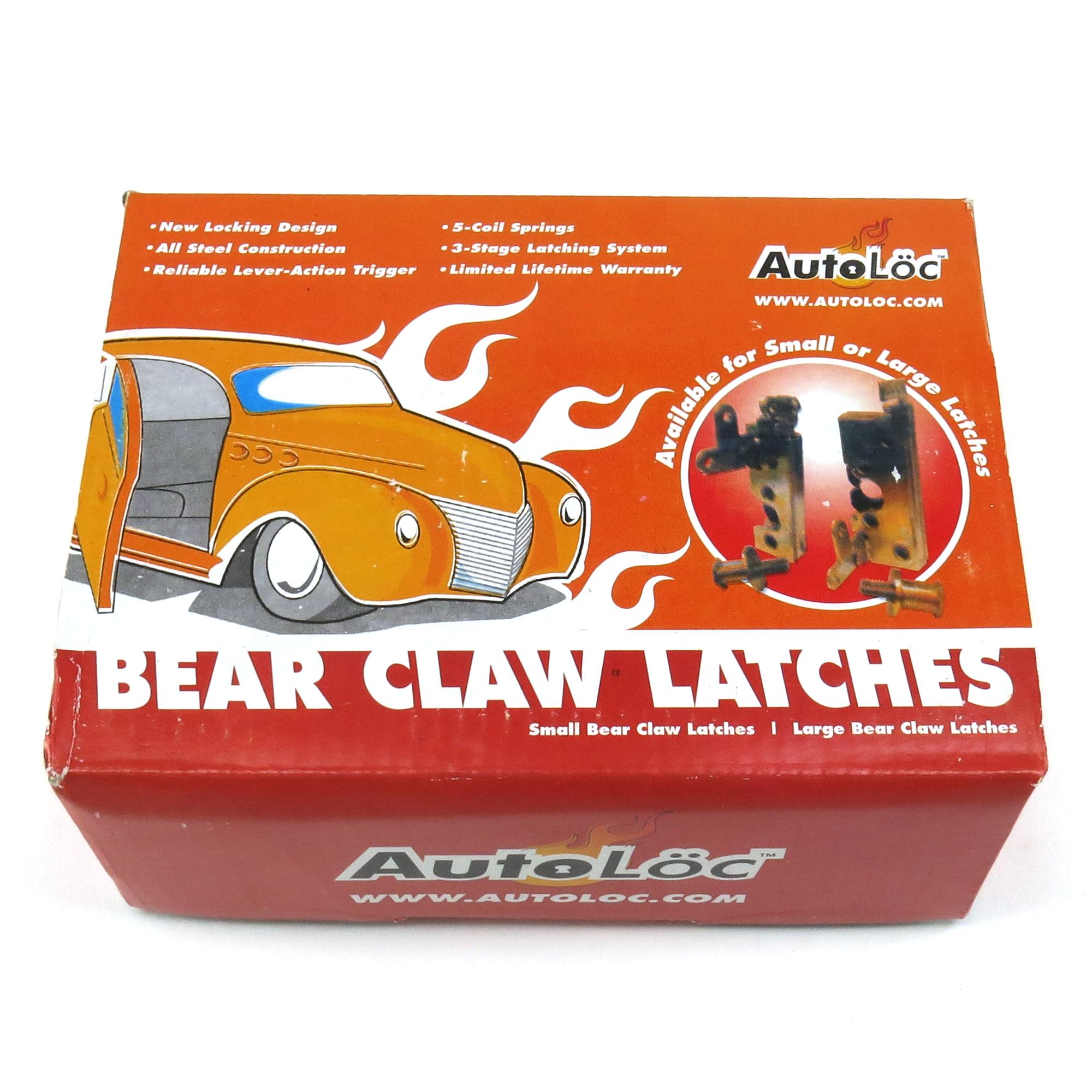 AutoLoc Bear Claw Trunk / Hood Small Latch & Striker Bolt ...